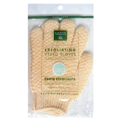 Earth Therapeutics Exfoliating Hydro Gloves Natural -- 1 PairB0001TST9O