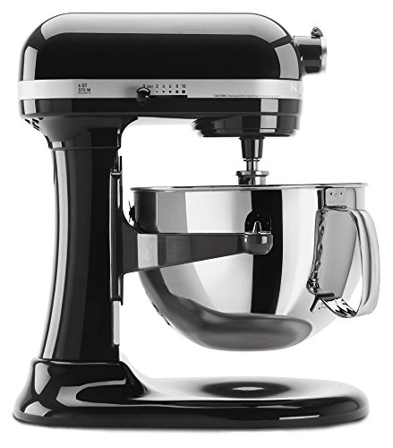 KitchenAid KP26M1XOB 6-Qt. Professional 600 Series - Onyx Black (Kitchenaid Mixer Free Shipping compare prices)