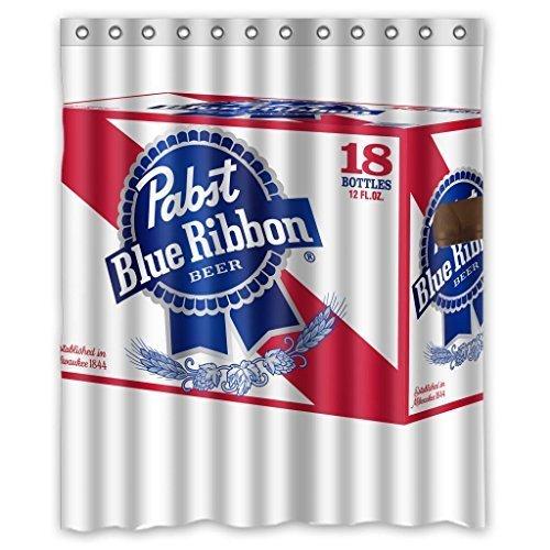 legendt-pabst-blue-ribbon-durable-fabric-shower-curtain-measure-60wx72h