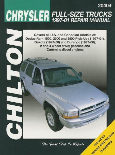 chilton-chrysler-full-size-trucks-1997-01-repair-manual-covers-all-us-and-canandian-models-of-dodge-