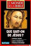 echange, troc Collectif - Mdb Hs N16 Que Sait-on de Jesus