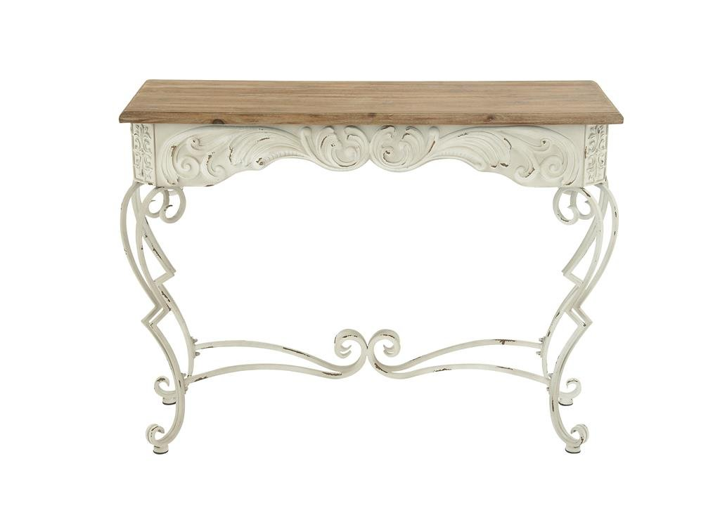 Deco 79 60947 Metal Wood Console Table, 42