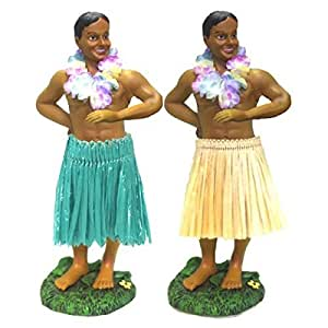 KC Hawaii Hawaiian Dashboard Hula Boy Doll