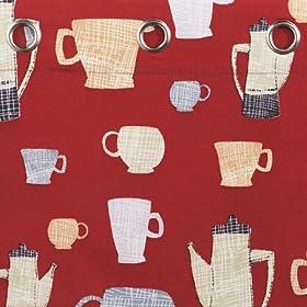 Tea Time Kitchen Curtains - 36 Tier