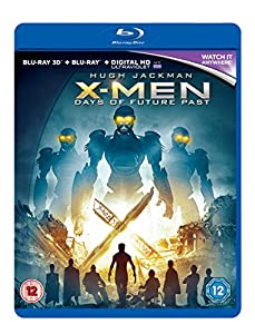 X-Men: Days of Future Past [Blu-ray 3D + Blu-ray + UV Copy]