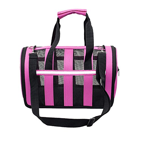 Small Animals Carriers, Soft-sided Pet Carrier – Pet Travel Portable Bag Home for Dogs, Cats and Puppies