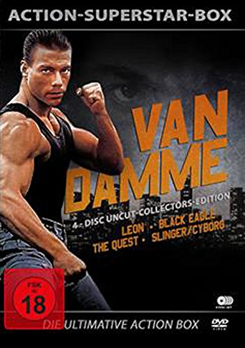 Van Damme - 4-Disc Uncut Collectors Edition ( Leon - Black Eagle - Slinger - The Quest ) [Collector's Edition] [4 DVDs]