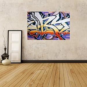 Gwm1 street graffiti art self adhesive wall for Amazon mural wallpaper