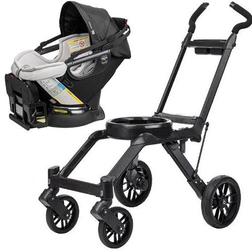 Orbit Baby G3 Travel System - Car Seat And Frame Black front-660772