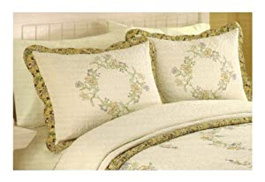 Amazon.com: Modern Heirloom - King Pillow Sham - Lenora Design : Home & Kitchen