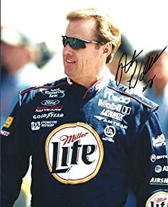 Rusty Wallace Autographed Hand Signed Racing 8x10 Photo by Real Deal Memorabilia