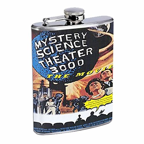 Mystery Science Theater 3000 Flask 8oz D-129