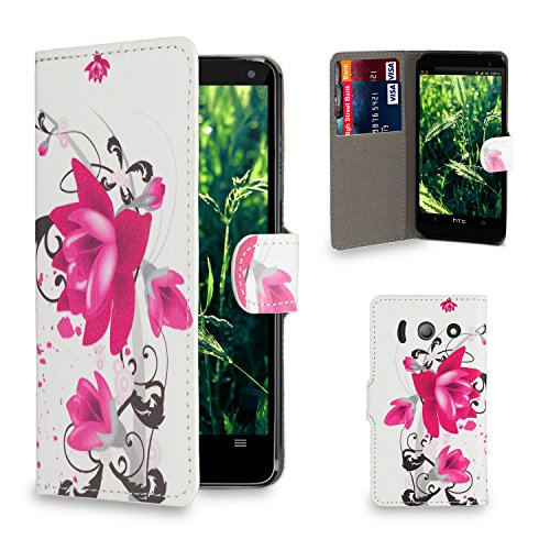 32nd-r-slim-flip-case-wallet-for-huawei-ascend-y300-design-book-purple-rose-huawei-ascend-y300