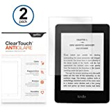 BoxWave Amazon Kindle Paperwhite ClearTouch Anti-Glare Screen Protector (2 Pack) - Matte Anti-Fingerprint Screen Guard Cover for the Kindle Paperwhite, Also Fits Kindle Touch, Kindle Keyboard, Kindle 4 / 4th Gen, Kindle 3 / 3rd Gen, Kindle 2