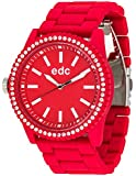 Edc Damen-Armbanduhr Stone Starlet Analog Quarz Plastik EE100752005