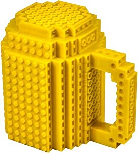 AWESOME Building Brick Mug - Yellow