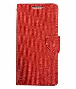 Ceffon Flip Cover Case For Infocus M350-Red