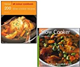 Gina Steer Slow Cooker Recipes Collection 2 Books Set, (Hamlyn All Colour Cookbook 200 Slow Cooker Recipes & Slow Cooker (Quick and Easy, Proven Recipes Series)