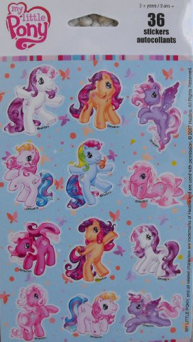 My Little Pony ~ 36 Stickers
