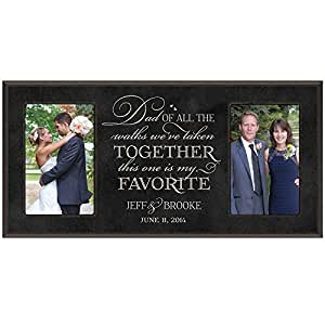 Amazon.com - Wedding Gift, Wedding Photo Frame, Personalized wedding ...