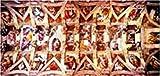 Sistine Chapel, M. A. Buonarroti (3000 pc panoramic puzzle)