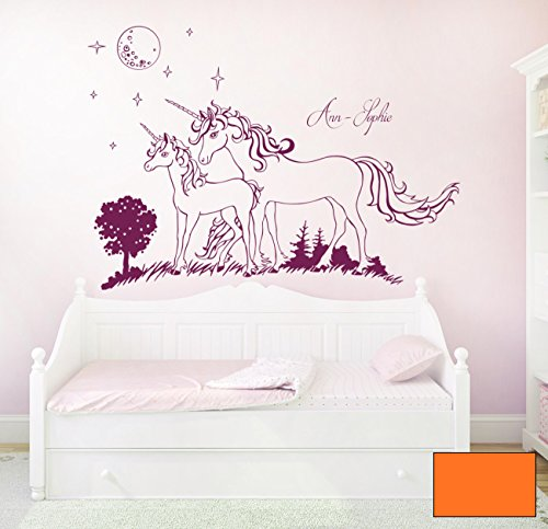 Graz-design-sticker-mural-dcoratif-motif-licorne-licornes-avec-le-prnom-m1600