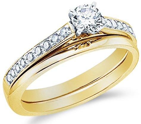 Engagement Rings 14k Yellow OR White Gold Diamond La s Womens