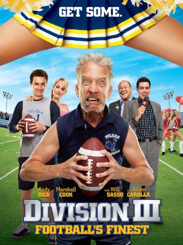 Amazon.com: Division III: Football's Finest: Andy Dick, Marshall Cook