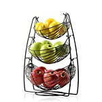 Saganizer Bronze 3 Tier Fruit Baskets fruit basket