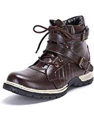 T-Rock Men's Faux Leather Boots