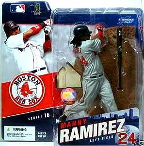 McFarlane Toys MLB Sports Picks Series 16 Action Figure Manny Ramirez (Boston Red... by Unknown