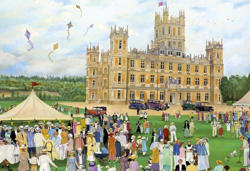 Highclere Castle 500pc Jigsaw Puzzle