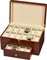Auer Accessories Urania 920DM Watch Box for 20 Watches Maple