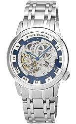 Vince Camuto Men's VC/1048BLSV The Executive Automatic Silver-Tone Bracelet Watch