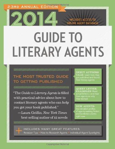 2014 Guide to Literary Agents Media Books Non Fiction Books