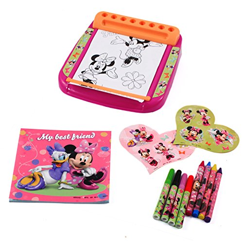 Disney Minnie Mouse Bowtique Roller & Go Portable Activity Desk