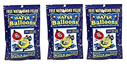 Water Bomb Balloons 3 Round (600 Pack)