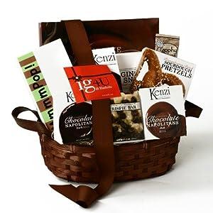 ig4U Chocolate and Snacks Gift Basket, 4-Pound