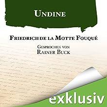 Undine Hörbuch von Friedrich de la Motte Fouqué Gesprochen von: Rainer Buck
