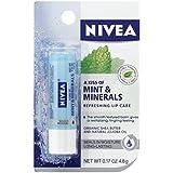Nivea a Kiss of Mint & Mineral Refreshing Lip Care 0.17 Oz