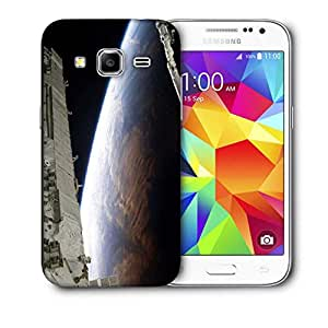 Snoogg Earth View From Top At Night Printed Protective Phone Back Case Cover For Samsung Galaxy Core Plus G3500