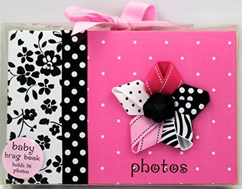 Baby Essentials Pink Polka Dot 'Memories' Photo Brag Book