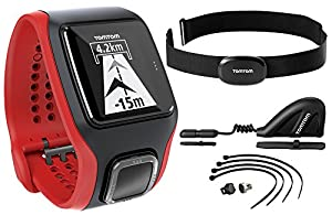 TomTom Multi-Sport Cardio with Cadence Sensor and Altimeter (Black)