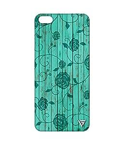 Vogueshell Flower Pattern Printed Symmetry PRO Series Hard Back Case for Xiaomi Mi5