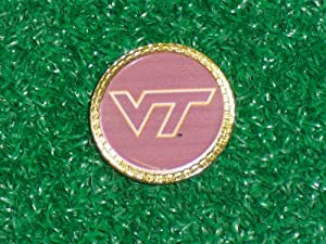 Gatormade Golf Ball Marker Virginia Tech Hokies by Gatormade Golf