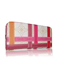 Sn Louis Fabric Pink Women Clutch SAMCO-697