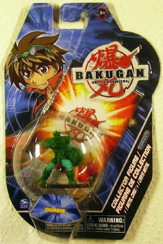 "Bakugan Battle Brawlers 2"" Collector Figure - Gorem - 1"