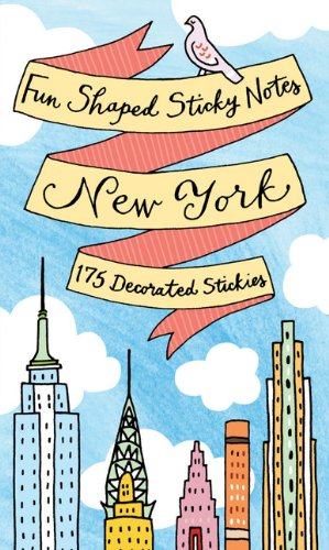 Fun Shaped Sticky Notes: New York City