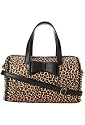 Betsey Johnson Tough Love Satchel Leopard
