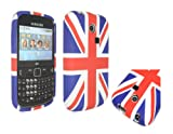 E4EMPORIUM UNION JACK UJ SOFT GEL SILICON CASE COVER FOR SAMSUNG CH@T335 S3350 CHAT 3350